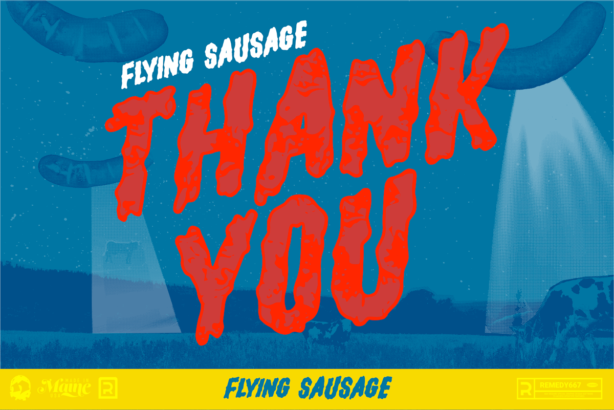 Flying Sausage - Thank You