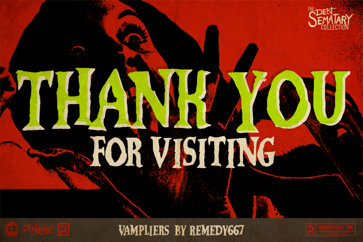 Vampliers - Thank You for Visiting