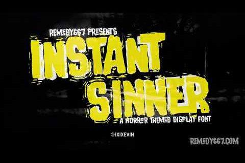 Instant Sinner Promotional Reel