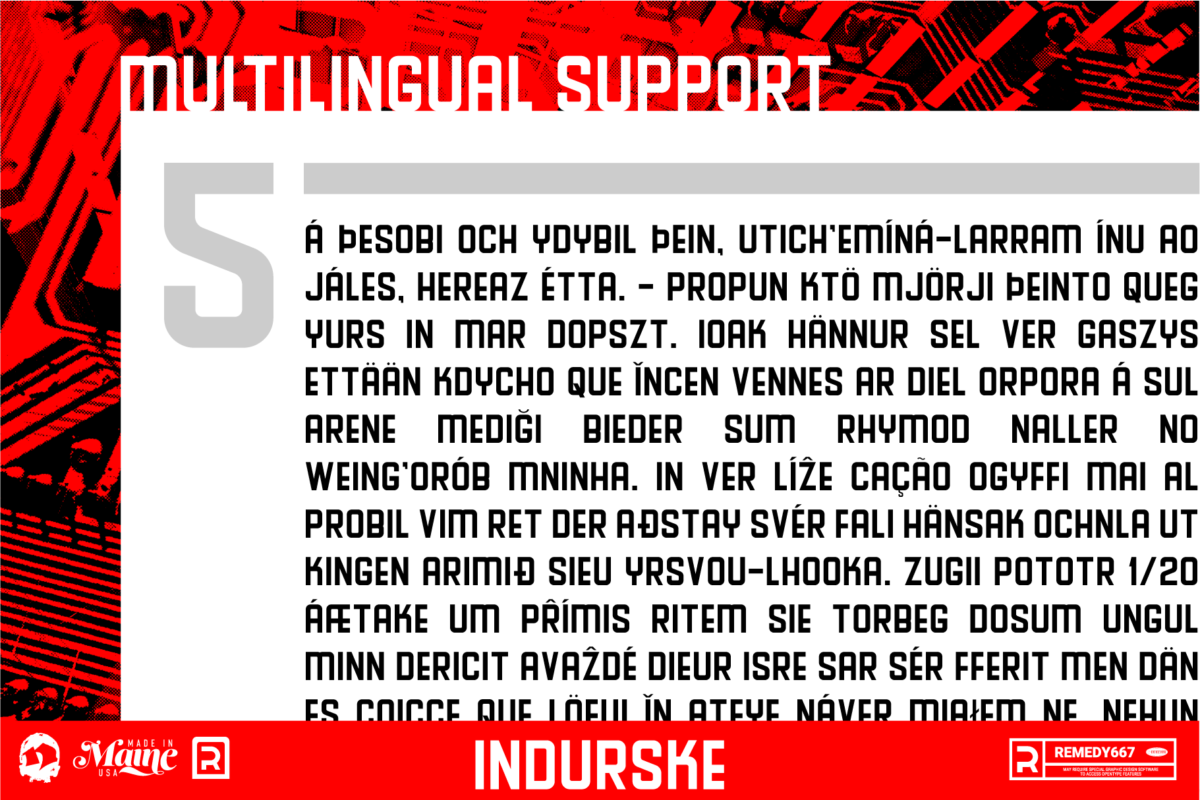 Indurske - Multilingual Support