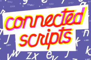 Connected Script Fonts Title, by Remedy667